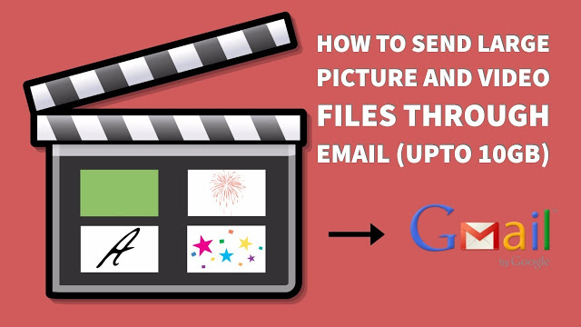 How To Send Large Picture And Video Files Through Email
