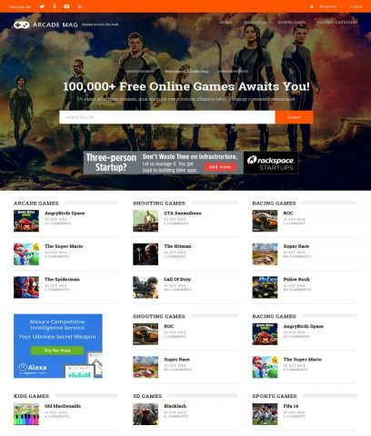 Arcade-Mag-Best-Free-Responsive-Latest-Blogger-Website-Templates