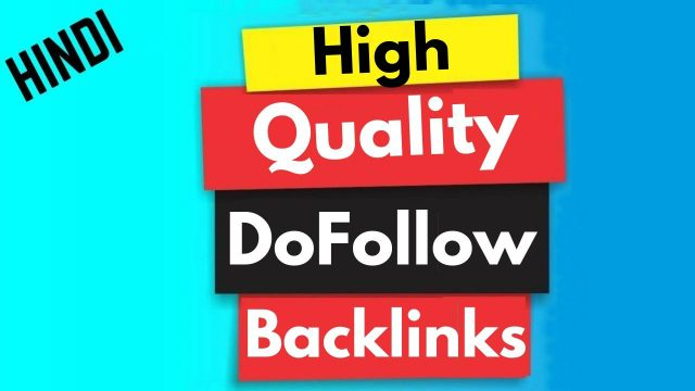 Create high quality free dofollow SEO backLinks for website off page SEO optimization techniques
