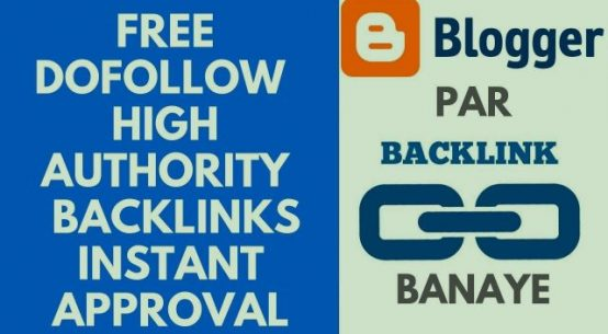 Dofollow backlinks from blogger high authority pr backlinks | Instant approval profile backlinks