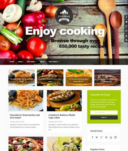 FoodMag-Best-Free-Responsive-Latest-Blogger-Website-Templates