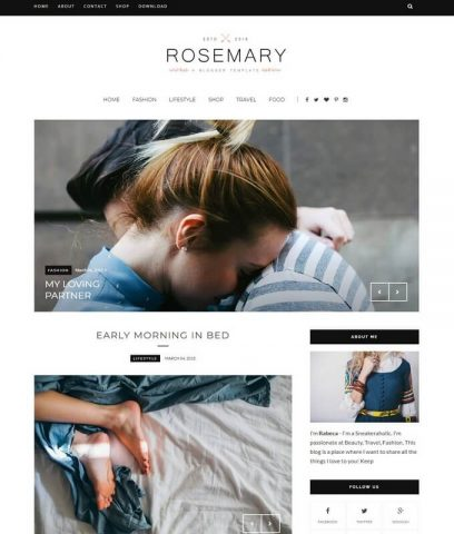 Rosemary-Best-Free-Responsive-Latest-Blogger-Website-Templates