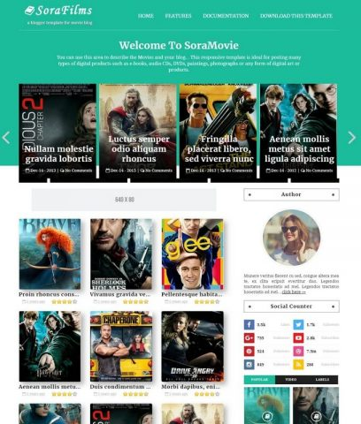 Sora-Films-Best-Free-Responsive-Latest-Blogger-Website-Templates