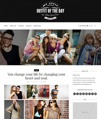outfit-Best-Free-Responsive-Latest-Blogger-Website-Templates