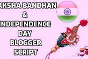 Raksha Bandhan & Independence Day Blogger Whatsapp SEO Friendly & Fully Responsive Script 2019