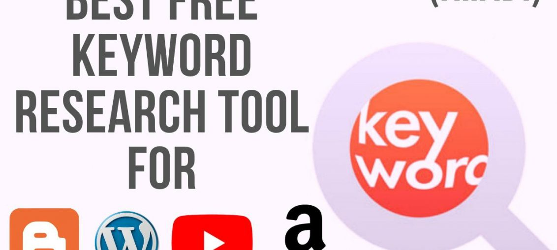 Best free keyword research tool for youtube amazon blogger and wordpress 2019 Hindi