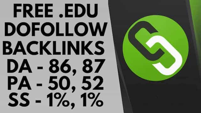 High pr dofollow backlinks | Free edu backlinks | Dofollow backlinks submission site 2019 (Hindi)