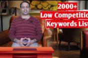 2000+ Micro niche blog low competition keyword list (Hindi) 2020