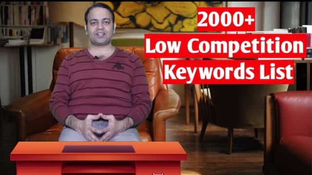 2000+ Micro niche blog low competition keyword list (Hindi) 2020